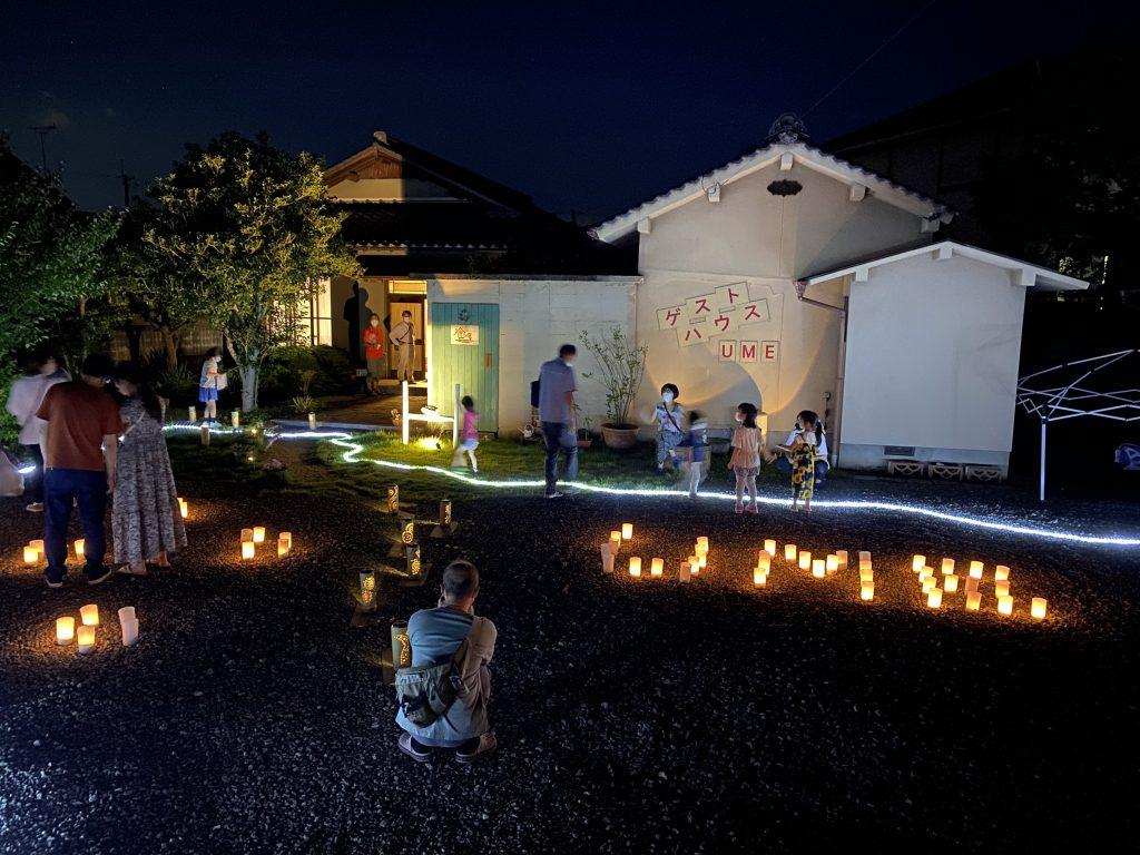 竹灯篭の夕べ